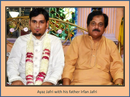 Montaha Alavi and Ayaz Jafri Wed (7)