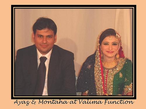Montaha Alavi and Ayaz Jafri Wed (22)