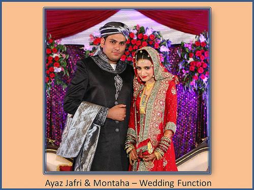 Montaha Alavi and Ayaz Jafri Wed (23)