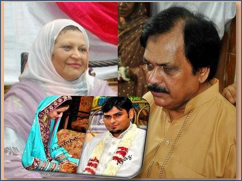 Montaha Alavi and Ayaz Jafri Wed (25)
