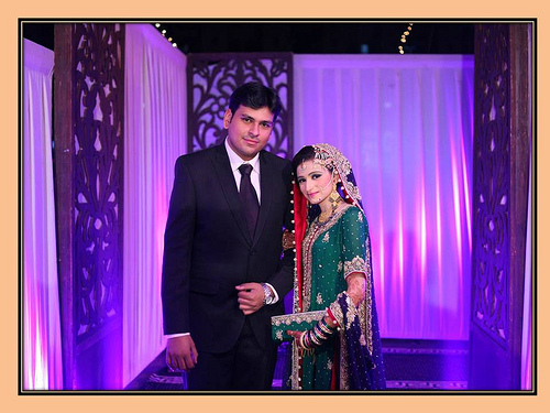 Montaha Alavi and Ayaz Jafri Wed