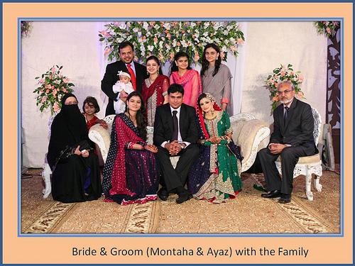 Montaha Alavi and Ayaz Jafri Wed (1)