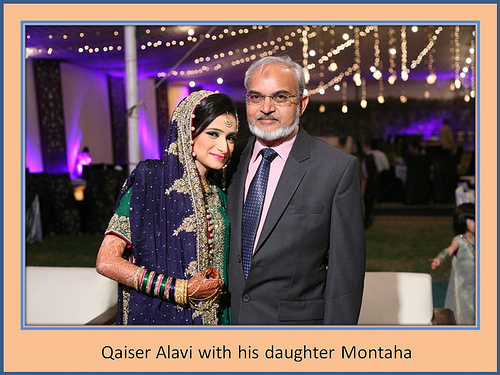 Montaha Alavi and Ayaz Jafri Wed (2)