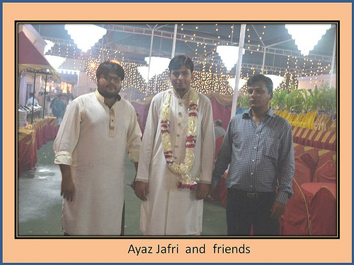 Montaha Alavi and Ayaz Jafri Wed (4)