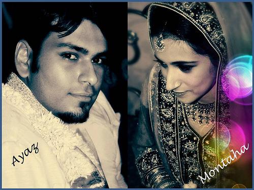 Montaha Alavi and Ayaz Jafri Wed (11)