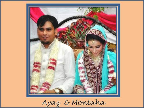 Montaha Alavi and Ayaz Jafri Wed (12)