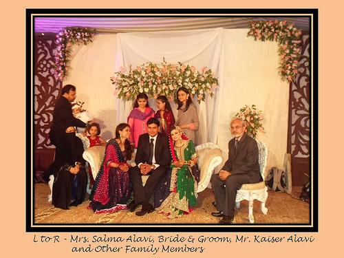 Montaha Alavi and Ayaz Jafri Wed (20)
